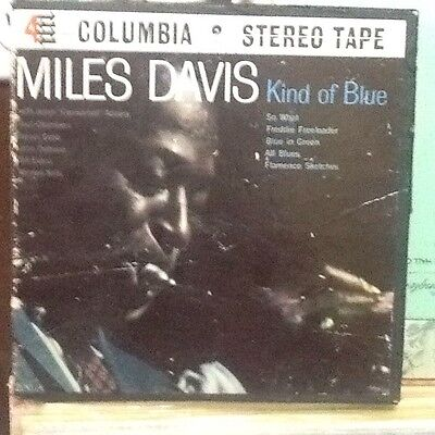Miles Davis Kind of Blue Reel to Reel Tape BOX ONLY