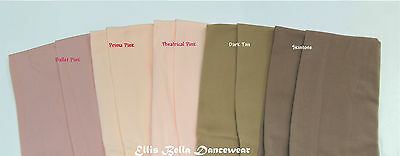 Ellisbella Ballet dance tights / stocking -- Convertible - Theatrical Pink 7 prs