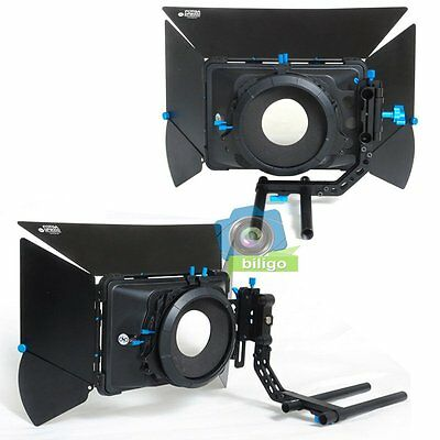 FOTGA DP3000 Swing-away Matte Box Sunshade For 15mm Rod Rig Support DSLR M3【US】