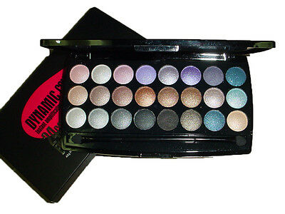 24 Color Makeup Eyeshadow Warm Shimmer Concealing Charm Dynamic #01 Palette