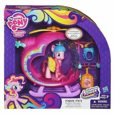 My Little Pony G4  Pinkie Pies Rainbow Helicopter Playset