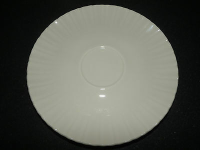 Vintage Mid Century Translucent China by Harker Forest Flower Saucer