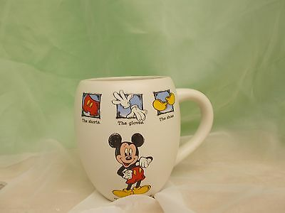 Vintage Disney Store Mickey Mouse Large Mug/cup