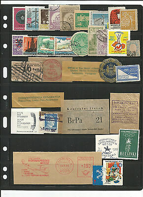 Worldwide cinderella's-stamps-labels-seals used