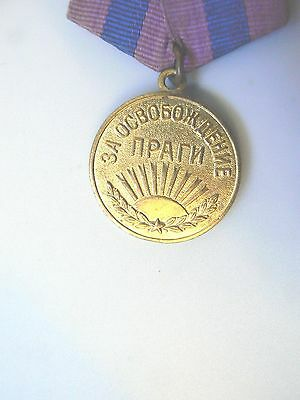 Russia, Soviet Wwii Medal For Prague