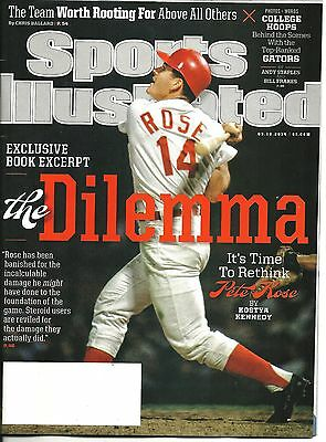 Sports Illustrated March 3 10 2014 Pete Rose College Hoops Free SnH Best Deal !!