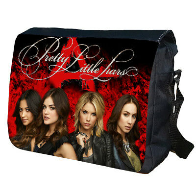 PRETTY LITTLE LIARS Messenger School College Rock Band Personalised Emo Bag