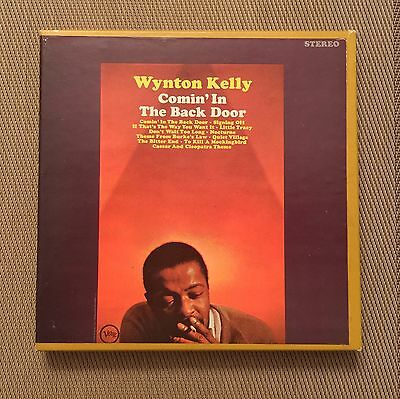 "Wynton Kelly ""Comin In The Back Door"" RARE 4 track 7 1/2 reel to reel [Verve]"