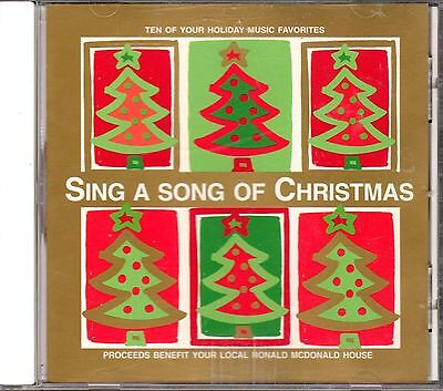 Sing A Song Of Christmas CD Amy Grant George Strait Reba McEntire Bing Crosby