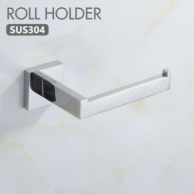 New 304 Stainless Steel Toilet Paper Tissue Roll Holder Bathroom Accessories