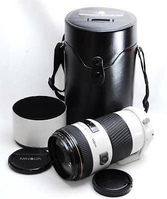 Exc+ Konica Minolta AF 80-200mm f/2.8 APO HS G Lens For Sony From Japan