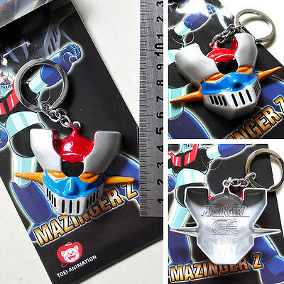 New & Hot Mazinger Z The head Keychain keyring Metal High 5cm Combine Shipping