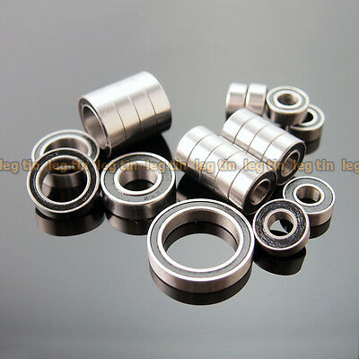 Rubber (Black) Sealed Bearing Kit for RC Axial Wraith Rock Crawler