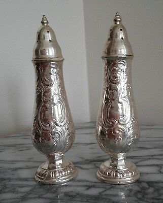 George III Silver Pepper Shakers - Insignia 563 , Since 1775
