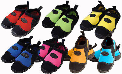 Kushies Toddler Size Pool & Beach Water Swim Shoes for Children & Kids - 80205