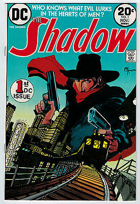 Shadow #1 9.2 1973 White Pages Bronze Age