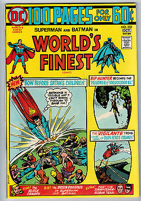 Worlds Finest #225 9.0 Off-White-White Pages Bronze Age