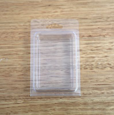x50 qty SINGLE CAVITY CLAMSHELL mold mould blister pack packaging clear boxes