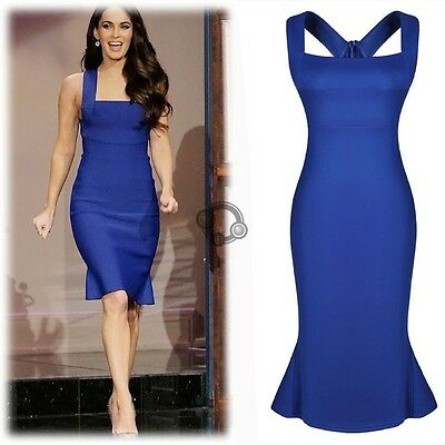 Women Sexy Straps Slim Cocktail Bodycon Bandage Formal Evening Long Dress R