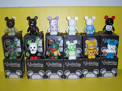 Disney Vinylmation Urban Series 2 Full Set Of 12 / With Chaser/Cards/Boxes/Foil