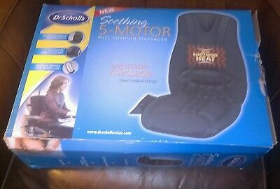DR. SCHOLLS SOOTHING 5 MOTOR FULL CUSHION BODY MASSAGER*MOD#DR8573*NEW IN BOX