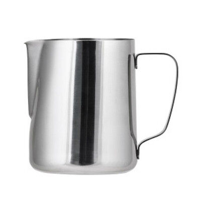Stainless Steel Milk Frothing Jug Pitcher 600ml