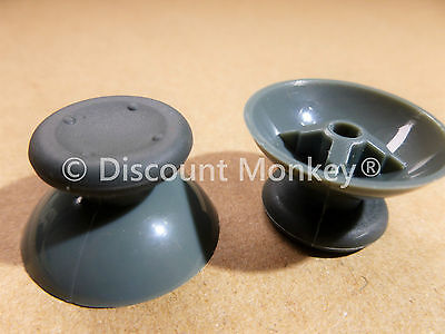 2 x Grey Analogue Replacement Thumb sticks Analog stick for Xbox 360 Controllers