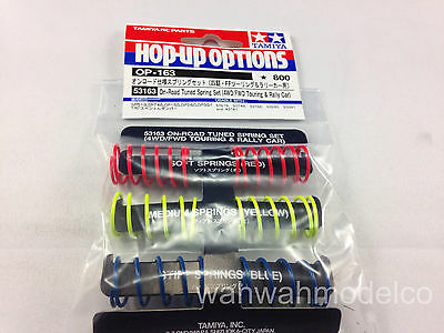 Tamiya 53163 On Road Tuned Spring 4WD FWD Car Part Cap Bs