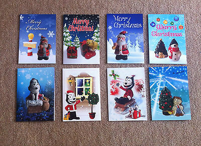 Wade International Collectors Club Christmas Cards x 8 - 2006 - 2013 inclusively