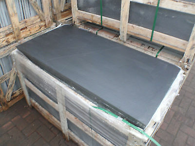Natural Blue /Black SLATE Hearth 900 x 600 25 to 35mm thick