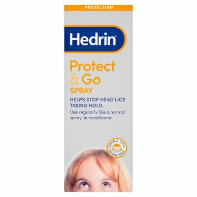 Hedrin Protect and Go Head Lice Protection Conditioning Spray 250ml