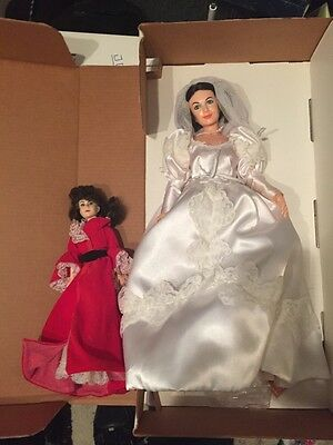 """Gone With the Wind Collectible Doll 19"""" BIG Scarlett World Doll Vintage Bride"""