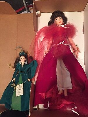 """Gone With the Wind Collectible Doll 19"""" BIG Scarlett World Doll Vintage Red"""