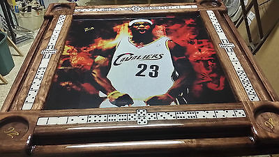 Custom Sports Theme Domino Tables by Domino Tables by Art