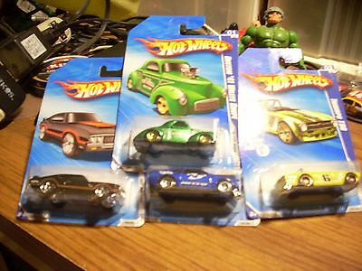 Lot of 4 2010 K-Mart Days Hot Wheels in Packages