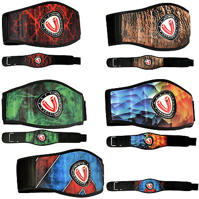 VELO Weight Lifting Belt Gym Back Support Power Training Lower Lumber Pain