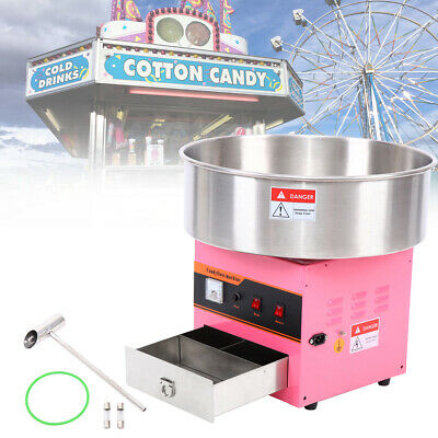 1300W Machine a Barbe a Papa Cotton Candy Floss Maker Partie Magasin Cuisine