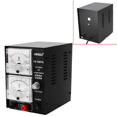 220V YIHUA Regulated DC Power Supply 15V 1A Adjustable Phone Repair Power Test