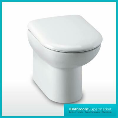 Back to Wall BTW WC Pan Toilet Including Soft Close Seat