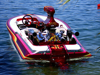 1978 Cole T-Deck Jet Boat - It's a Man's Boat