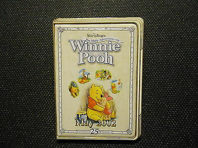 DISNEY 12 MONTHS OF MAGIC DVD CASE MANY ADVENTURES OF WINNIE THE POOH PIN