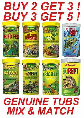 Reptile Turtle Food Bloodworm Mealworm Crickets Dried Fish River Shrimp Gammarus