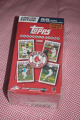 2008 Limited Edition Topps Boston Red Sox 55 card team set - Factory Sealed