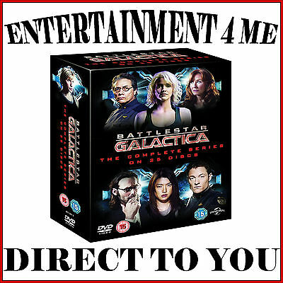 Battlestar Galactica - The Complete Series *brand New Dvd Boxset*