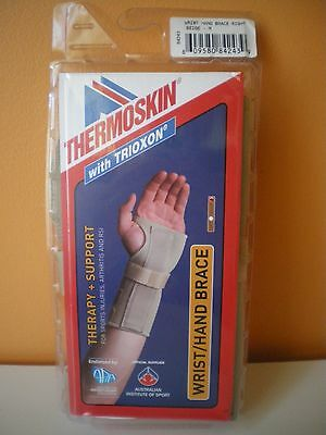 Thermoskin Wrist/Hand Brace with Trixon Beige LEFT HAND ONLY