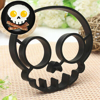 New Fabulous Skull Owl Egg Fried Shaped Shaper Ring Fancy Kitchen Cooking Tool