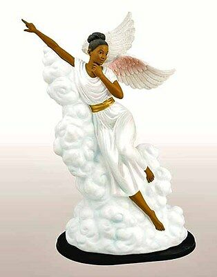 Pointing the Way Angel Figurine: African American NEW SKU 63013