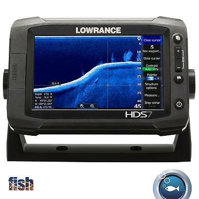 Lowrance HDS-7 Gen2 Touch Insight 83/200kHx Transducer & UP TO $300 BACK REBATE