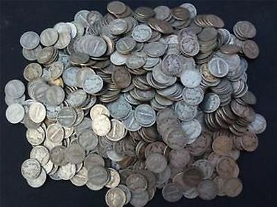 USA D Stamp 5 Five Cent Coins VGC Good Condition
