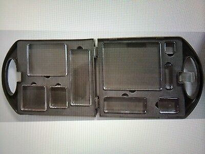 Stampin Up Clear Mount Blocks Set of 9 and Block Caddy